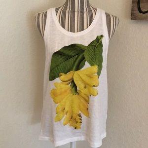 J. Crew bananas shirt.